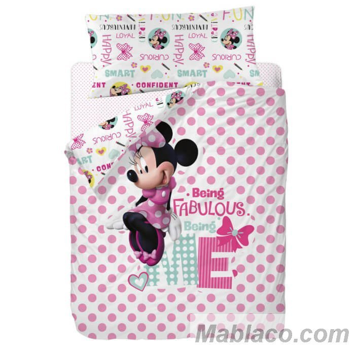 Funda Nrdica Minnie Mouse Fabulous Disney