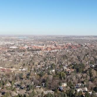 South Boulder : de Pearl Street jusqu'au Chautauqua Park
