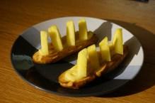 Floran pâtisse : éclair crème citron et ananas