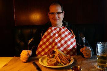 Burger de Bison au bleu, Ted Montana Grill, Denver