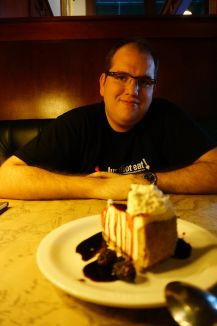 Cheesecake aux fruits rouges, Ted Montana Grill, Denver