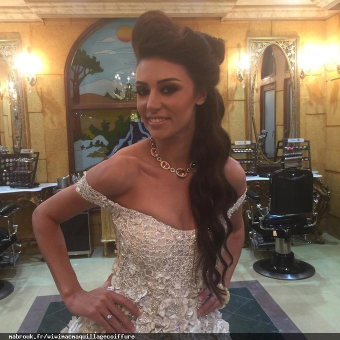 Amri Wiem Maquillage coiffure charmel paris