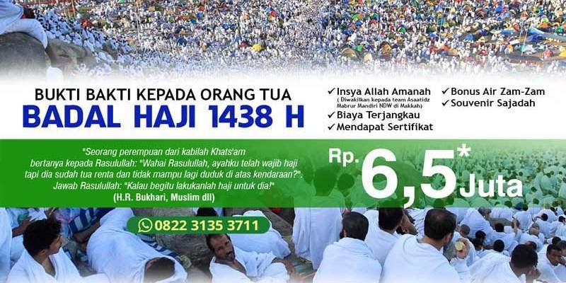 Badal Haji 1438, Badal Haji 2017, Jasa Badal Haji, Badal Haji Surabaya