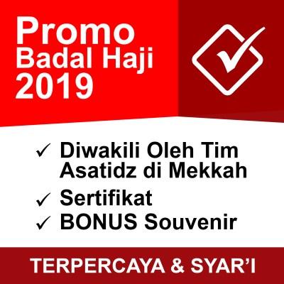 Jasa Badal Haji 2019, Badal Haji 2019 Murah, BAdal Haji Surabaya Murah, Badal Haji Murah di Surabaya