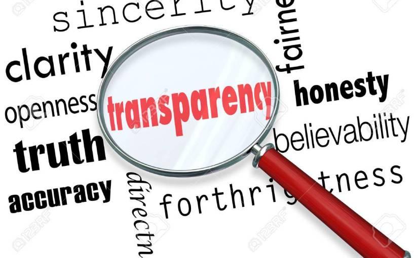 La transparence des réseaux sociaux