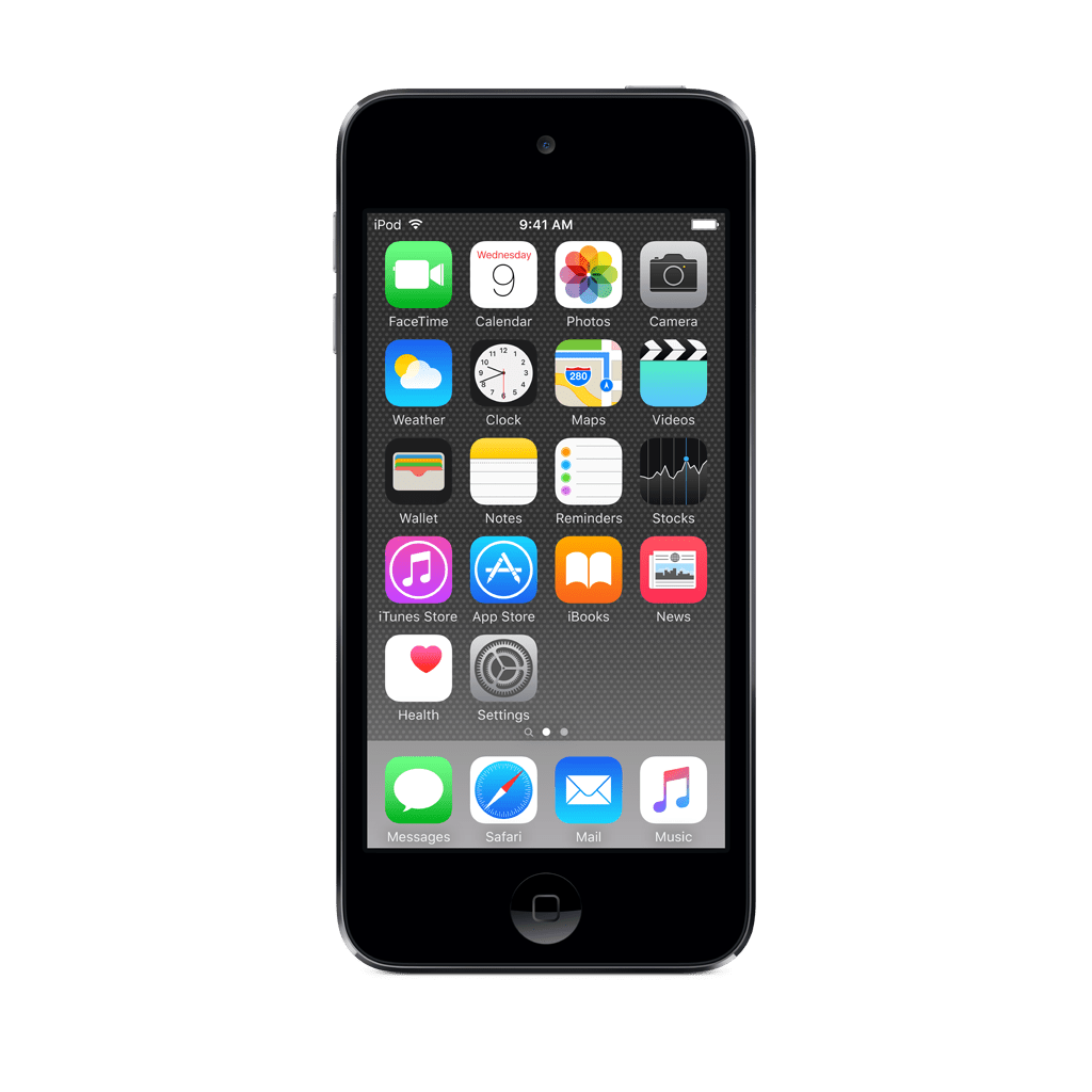 ipod touch screen on mac