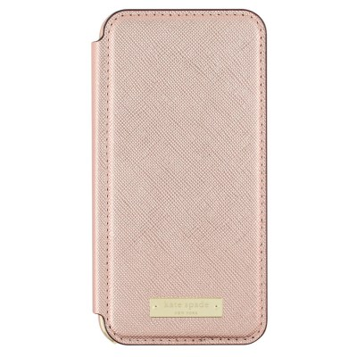 kate spade new york Protective Folio Case for iPhone 7 - Rose or Black