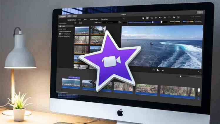 iMovie – Beitragsbild Videoschnitt