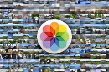 Apple Fotos App unter macOS auf dem Mac