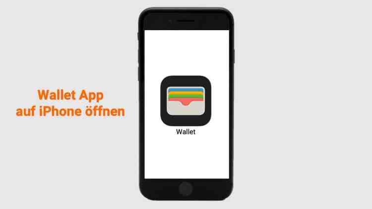 Wallet App öffnen, um Apple Pay einzurichten