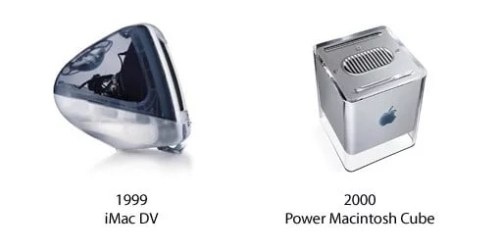 iMac DV and Power Macintosh Cube