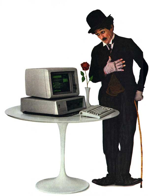 showdown at apple john sculley vs steve jobs acirc mac history advertising for the first ibm pc