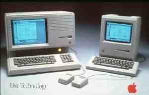 Apple Lisa and Apple Macintosh (1984)