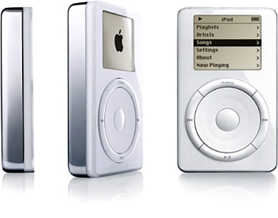 The first iPod (2001)