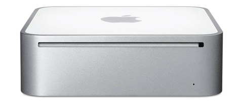 Mac mini frontside (March 2009)
