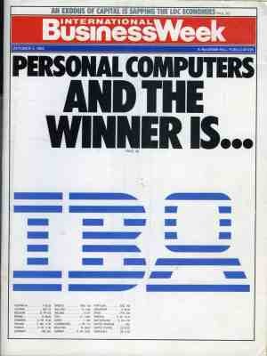 Title of BusinessWeek (October 3rd, 1983)