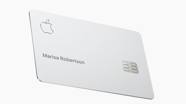 The new Apple card