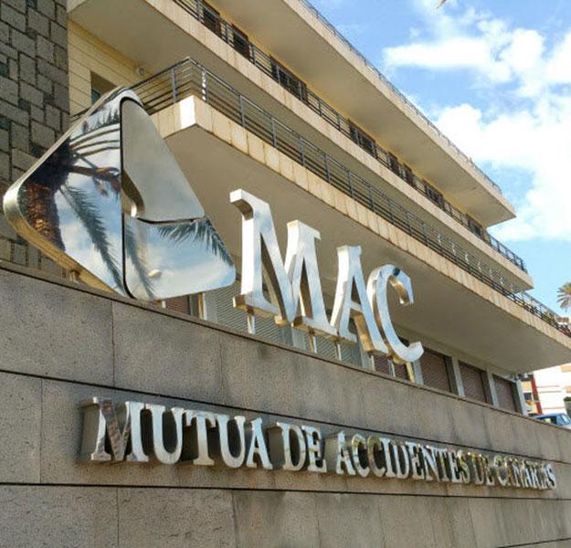 Fachada de la sede de MAC en Las Palmas de Gran Canaria