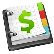 Money with sync icon