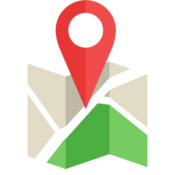 Arrival GPS driving assistant ETA travel time and directions to your favorite locations icon