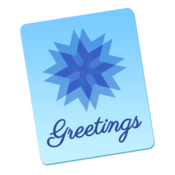 Stationery Greeting Cards icon