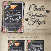 Creativemarket Chalk Valentines Flyer 144373 icon