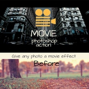 Creativemarket Movie Photoshop action 42551 icon