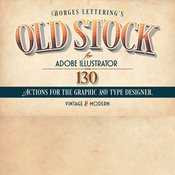 Creativemarket Old Stock Illustrator Actions 56658 icon