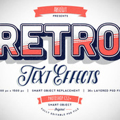 Creativemarket Retro Vintage Text Effects 167001 icon