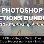 Creativemarket 230Plus Photoshop Actions Bundle 217178 icon