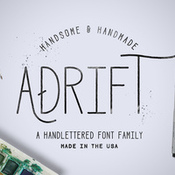 Creativemarket Adrift Font Pack 25percent OFF 237211 icon