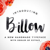 Creativemarket Billow Font Plus Extras 256773 icon