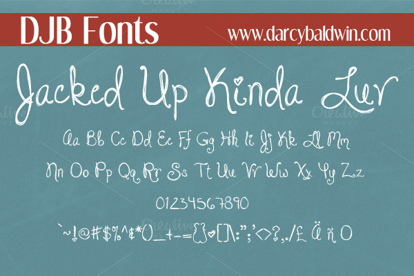 Creativemarket_DJB_Jacked_Up_Kinda_Luv_Font_224179_cap02