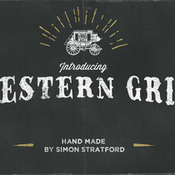 Creativemarket Western Grit hand made typeface 214508 icon