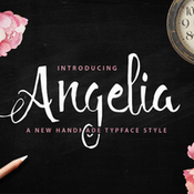Creativemarket Angelia Script 50percent off 275425 icon