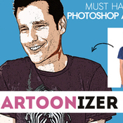 Creativemarket Comic Cartoon Photoshop Action 307963 icon