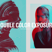 Creativemarket Double Color Exposure 286414 icon