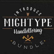 Creativemarket Mightype Font Bundle 316894 icon