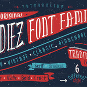Creativemarket Oldiez Font Family Plus bonus 275429 icon