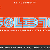 Creativemarket SOLID70 Type System 324786 icon