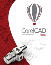 CorelCAD 2016 flat box icon