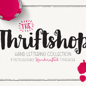 Creativemarket Thriftshop Hand Lettering Collection 329607 icon