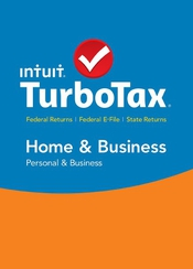 TurboTax Home and Business 2015 flat box icon