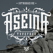 Creativemarket aseina typeface plus bonus introsale 369153 icon