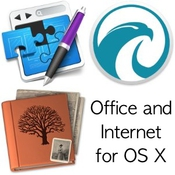 App set office and internet for os x logo icon