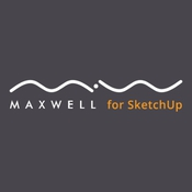 Maxwell render for sketchup logo icon