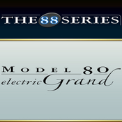 Chocolate audio the 88 series model 80 electric grand logo icon