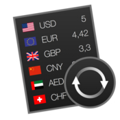 Currencier currency converter widget icon
