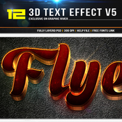 12 3d text effect v7 11392155 icon