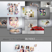 Abstrakt photo frame bundle 12321527 icon